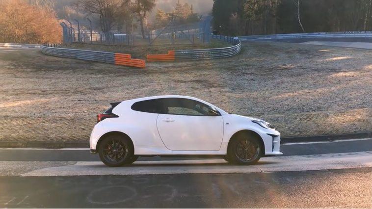 Toyota GR Yaris Nordschleife Lap
