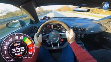 Audi R8 Performance Top Speed