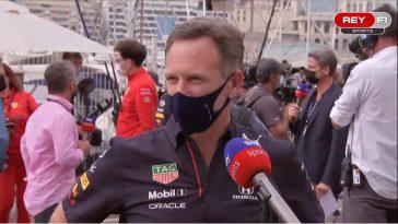 Christian Horner interview Monaco 2021