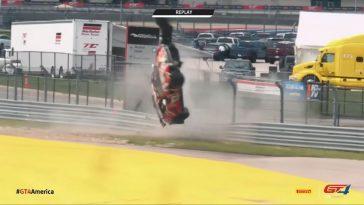 De Motorsport Crashes van week 17