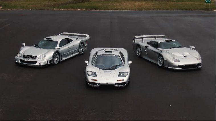 F1 vs 911 GT1 vs CLK GTR