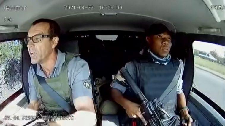 Geldtransport in Zuid-Afrika onder vuur genomen
