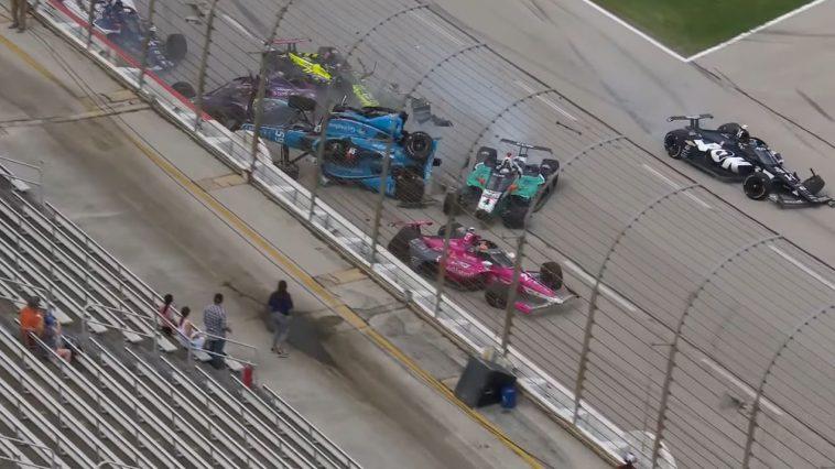 IndyCar 2021 - Texad Crash Highlights
