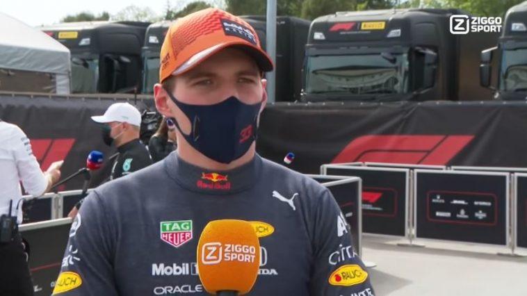 Interview Max Verstappen na GP Spanje 2021