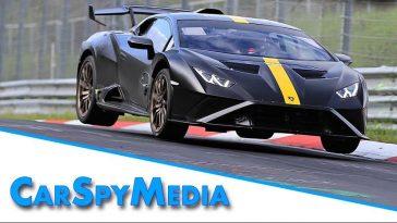 Lamborghini Huracan STO doet aanval op Nürburgring Record