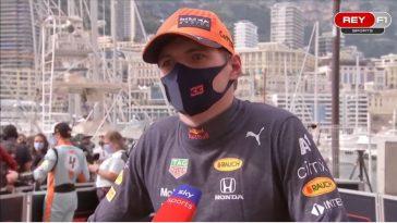 Max Verstappen bij Sky Sports na zege Monaco Grand Prix