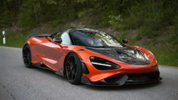 McLaren 765LT met Novitec-uitlaat brult en knalt erop los
