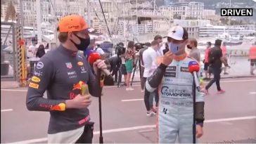 Mooi dubbelinterview Verstappen & Norris bij Sky Sports