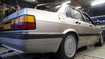 Op de Rollenbank - Audi 90 2.0