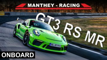 Porsche 911 GT3 RS MR Nordschleife Lap