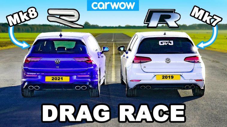 Volkswagen Golf R Mk8 vs Mk7