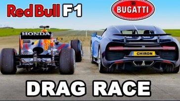 Bugatti Chiron vs Red Bull RB7 F1