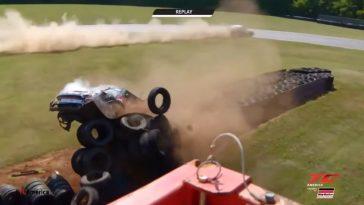 De Motorsport Crashes van Week 22