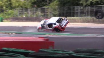 De Motorsport Crashes van week 21