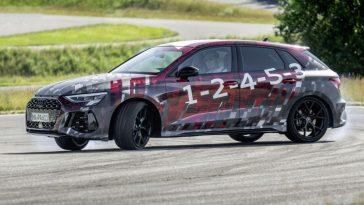 Eerste beelden van nieuwe Audi RS3 Sportback