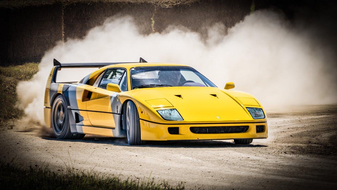 Ferrari F40 Drift