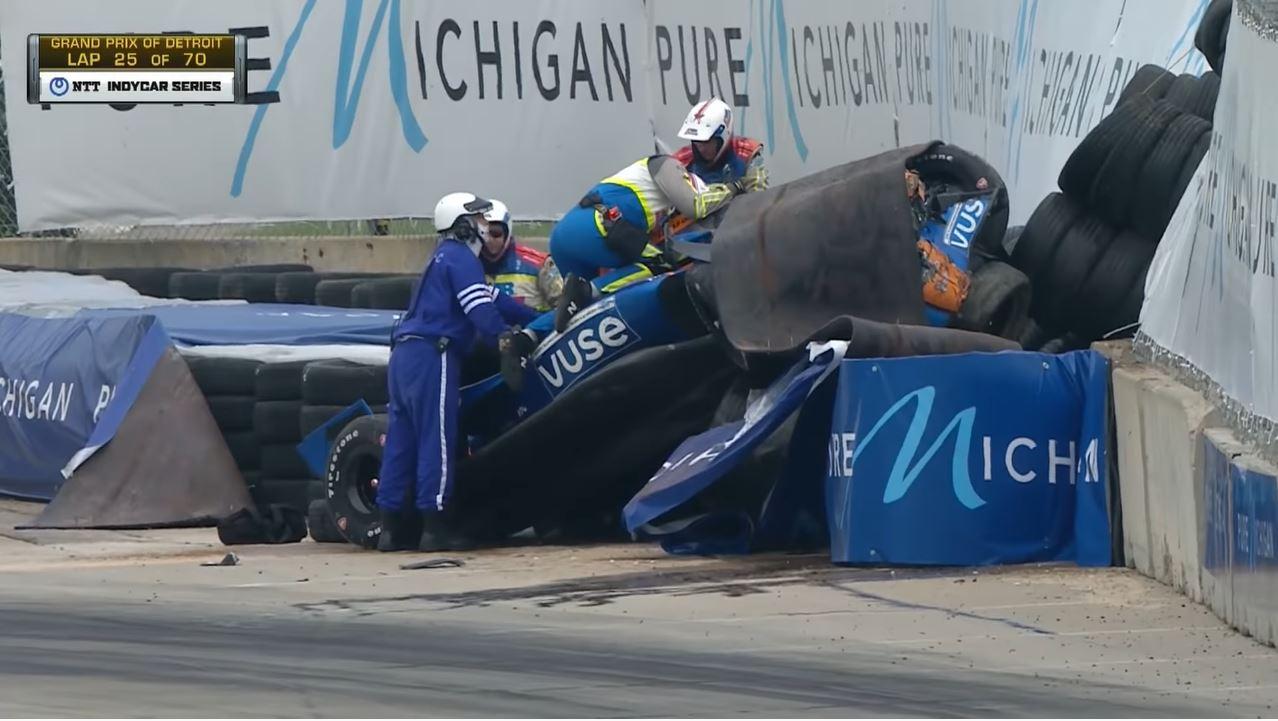 IndyCar 2021 - Detroit Duel Highlights