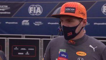 Interview Max Verstappen na winst in GP Frankrijk