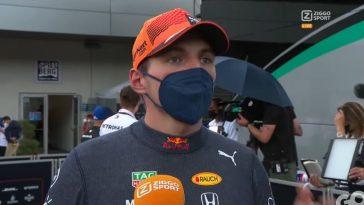 Max Verstappen blikt terug op dominante overwinning