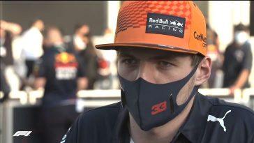 Max Verstappen reageert op uitvalbeurt in Baku