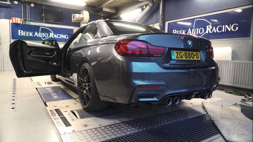 Op de Rollenbank - BMW M4 Competition