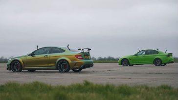 750 pk C63 AMG Black Series vs 700 pk BMW F80 M3