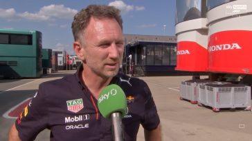 Christian Horner woest op Lewis Hamilton