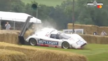 De crashes van Goodwood Festival of Speed 2021