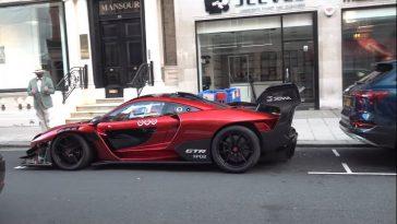 Deze McLaren Senna GTR is straatlegaal