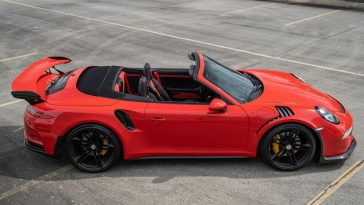 Porsche 911 GT3 RS Cabrio