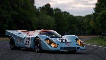 Porsche 917 K in Gulf kleuren