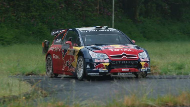 Sebastien Loeb's 2008 Citroen C4 WRC