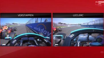 Sky Sports kijkt naar Hamilton's andere inhaalactie in Copse Corner