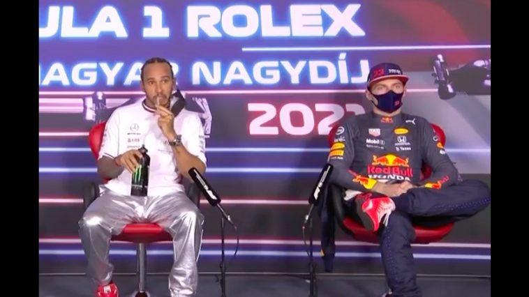 Verstappen helemaal klaar met vragen over Silverstone-incident