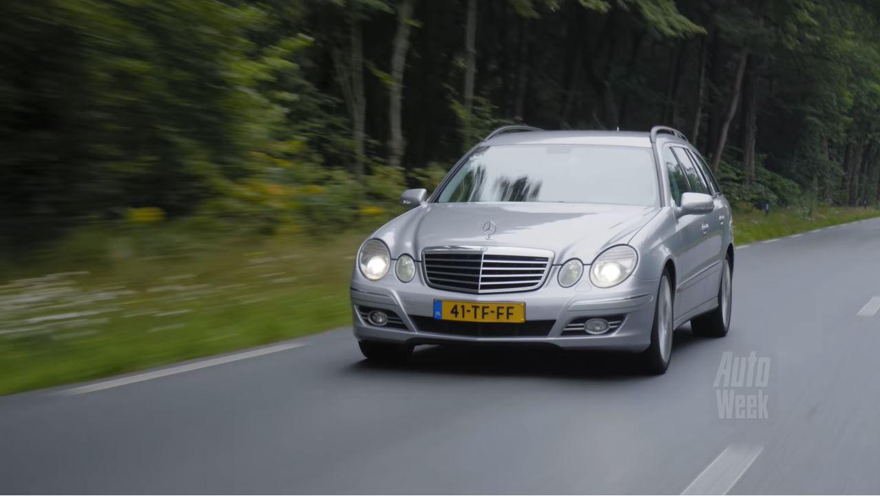 Klokje Rond - Mercedes-Benz E 320 CDI met 557.864 km