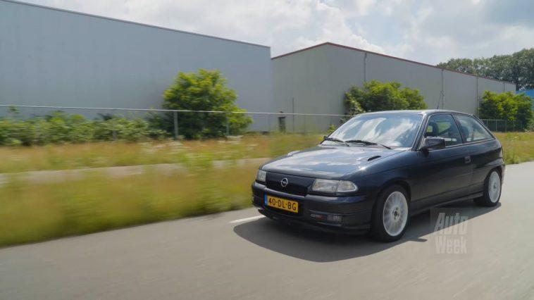 Klokje Rond - Opel Astra 2.0-16V GSI met 440.277 km