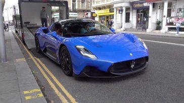 Maserati MC20 in Londen