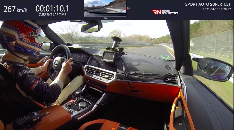 Nieuwe BMW M4 Competition klokt 7.30 op de Nordschleife