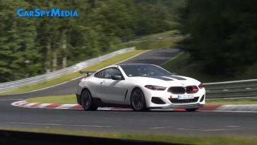 Nieuwe BMW M8 CSL gespot op de Nürburgring