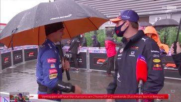 Norris complimenteert Verstappen met geweldige race in Spa