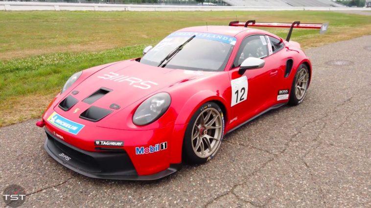 Porsche 992 GT3 Cup getest door Matt Farah