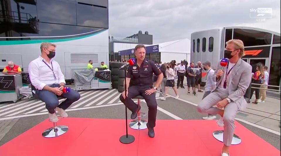 Red Bull-teambaas reageert op crash in GP Hongarije