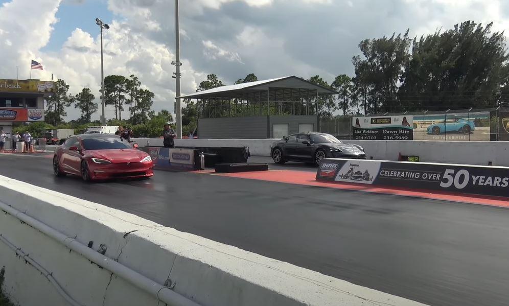 Tesla Plaid Model S vs Porsche Taycan Turbo S