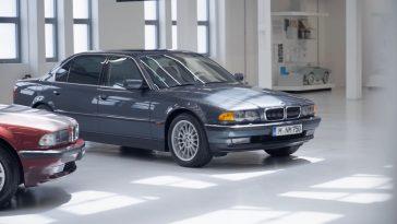 BMW Classic toont de E38 BMW 750 iL