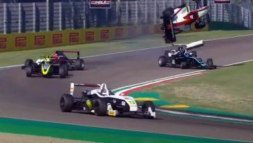 De Motorsport Crashes van week 35