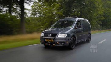 Klokje Rond - Volkswagen Caddy TDI met 696.195 km