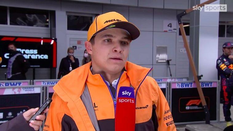 Lando Norris Heartbroken na GP Russia 2021