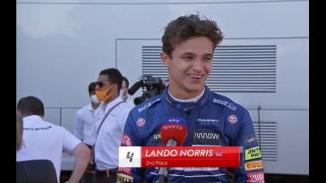 Lando Norris dolblij voor McLaren met 1-2 in Monza