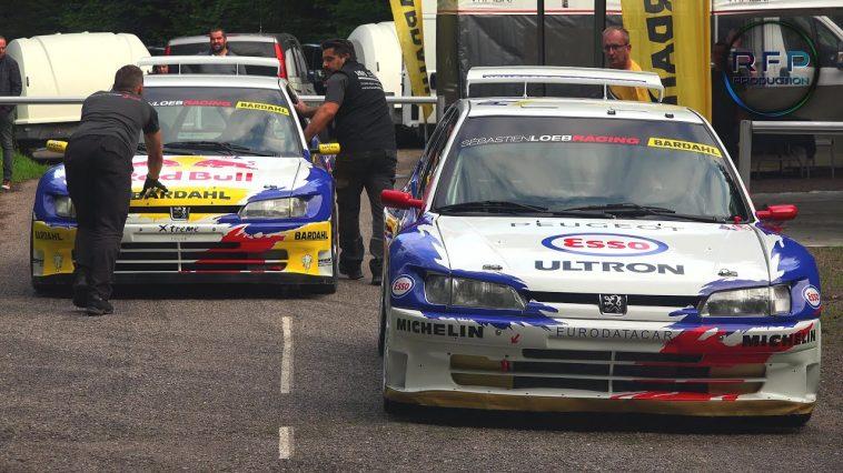 Loeb & Delecour testen schreeuwende 306 Maxi's