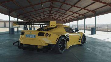 Lotus Exige met 6.2-liter V8 van AMG